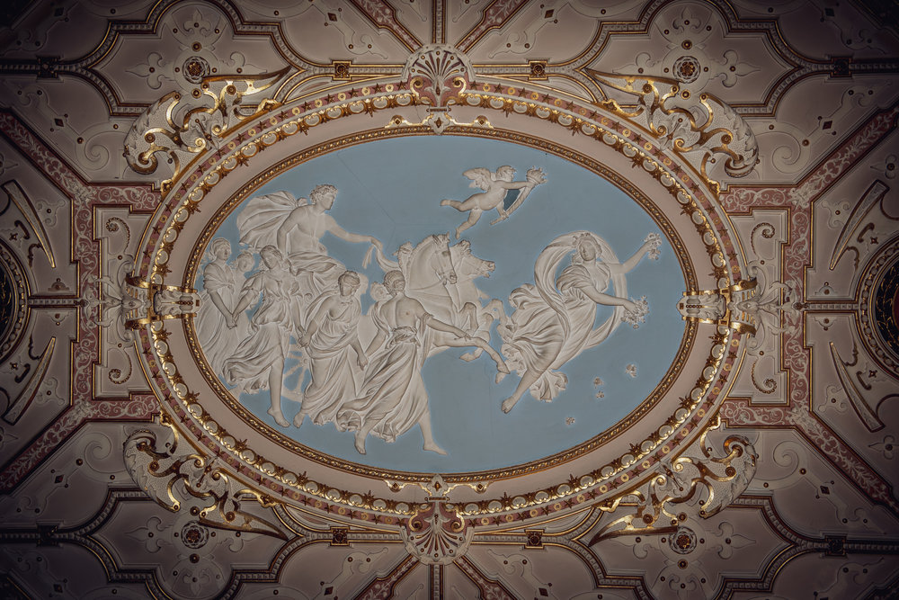 Ceiling at Crewe Hall