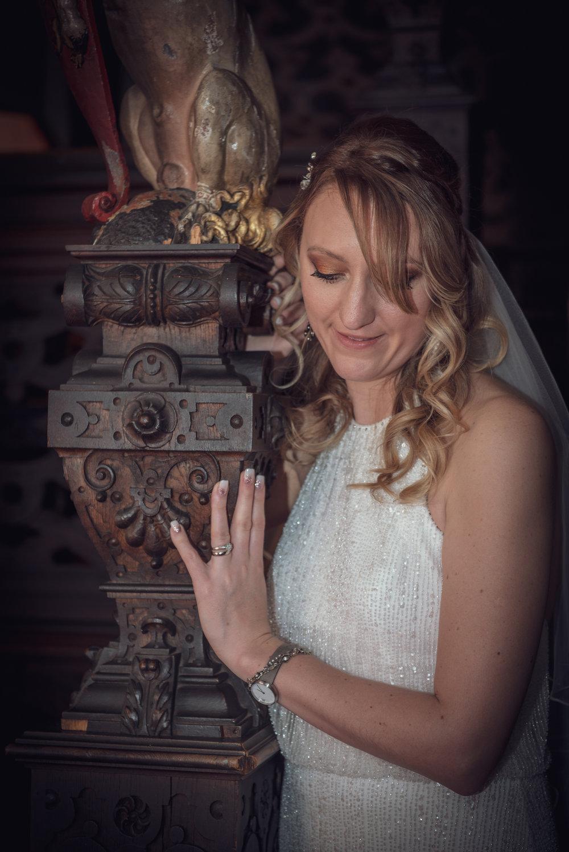 Bride at Crewe Hall