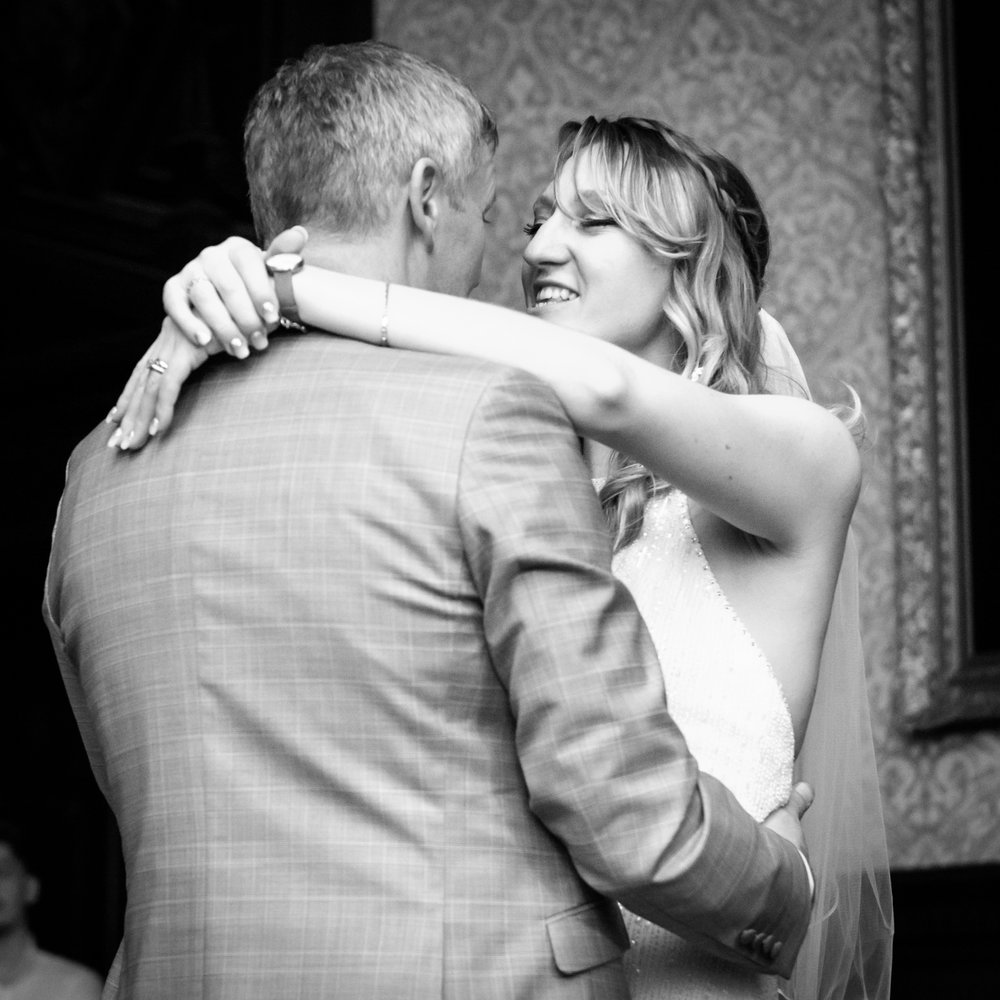 1st Dance at Crewe Hall Wedding Ceremony