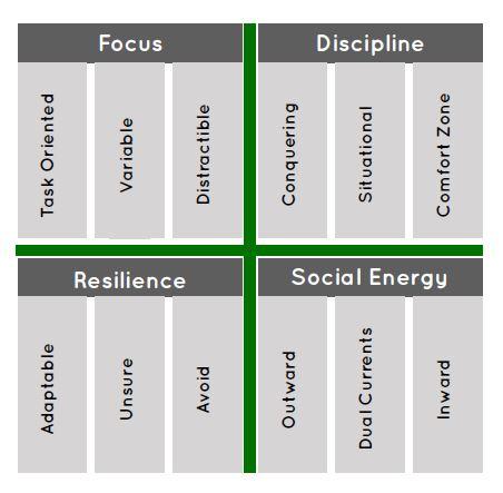 percussionmind grid of mental habits