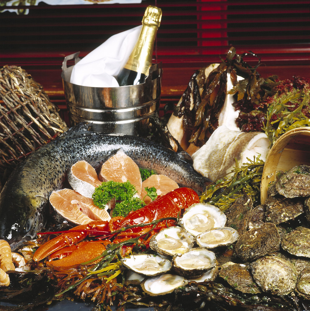 The West Coast of Ireland is famous for it's rich & varied seafood.
