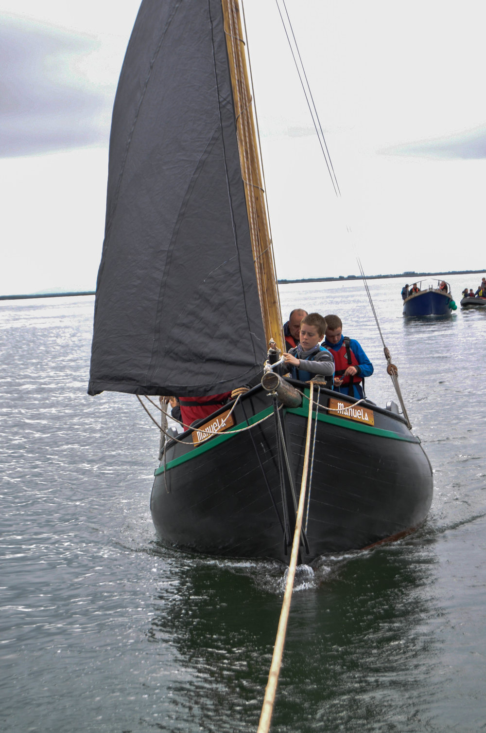 A Passed Down Tradition of Sailing in Galway Bay.
