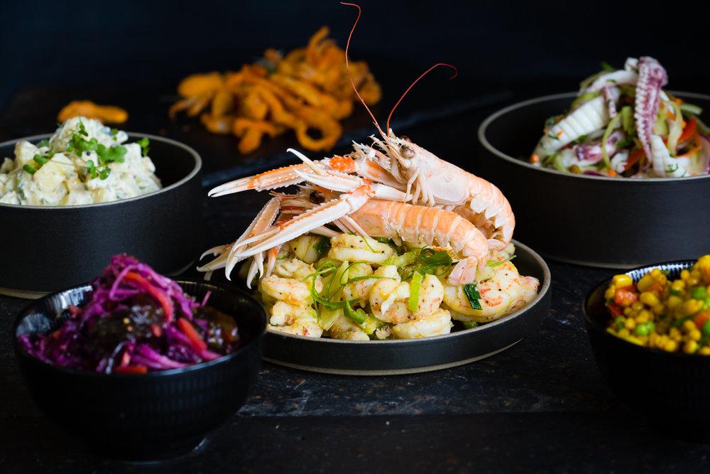 Finish your tour at the award winning seafood centre:   Galway Bay Seafoods  . Photo credit: Anita Murphy.