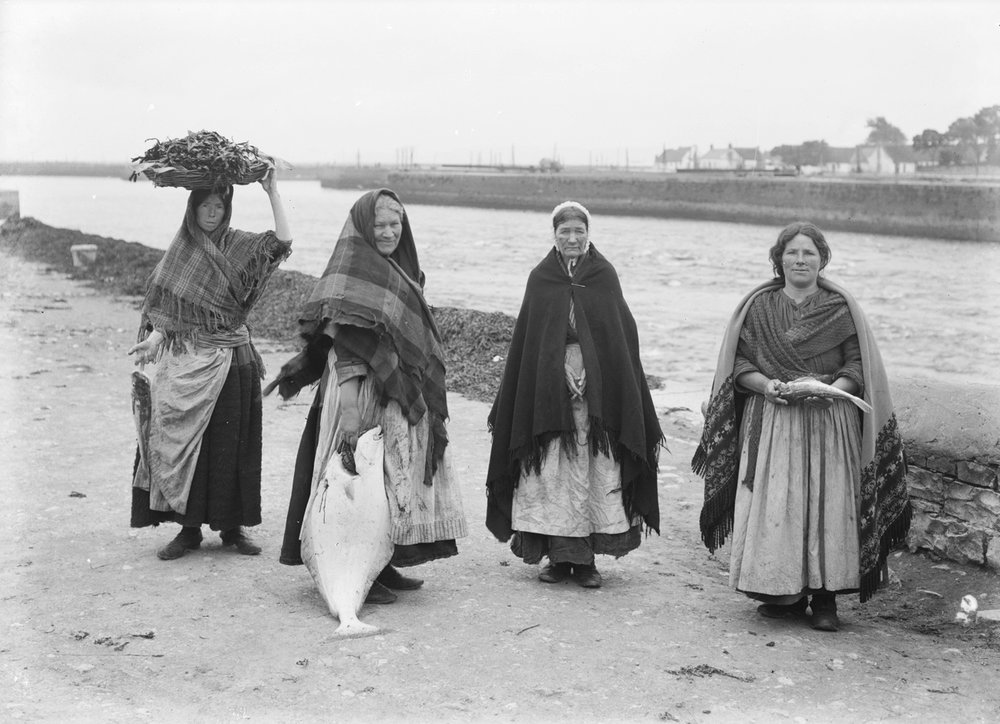 The Claddagh Fisher Wives.