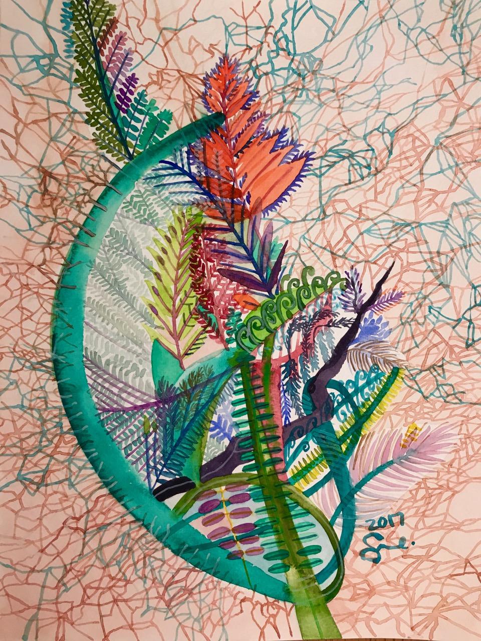 Roots/veins.2017