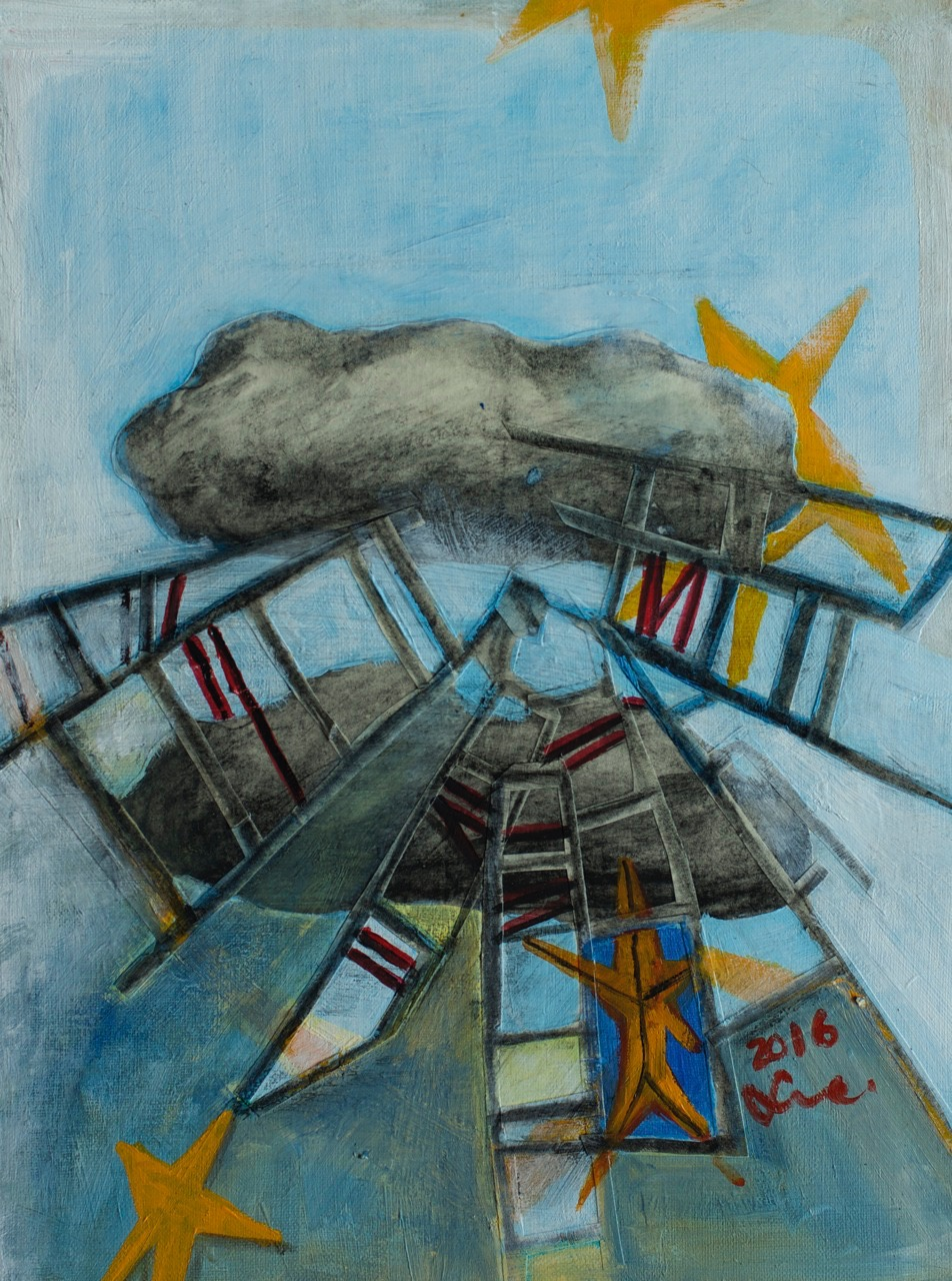 Ladders to the clouds.2016