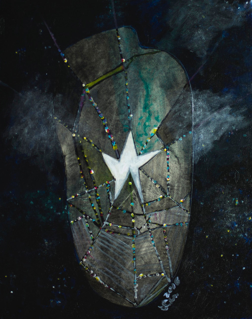 Star caught in space.2016