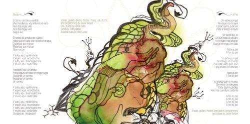 Capitan Melao album inside image
