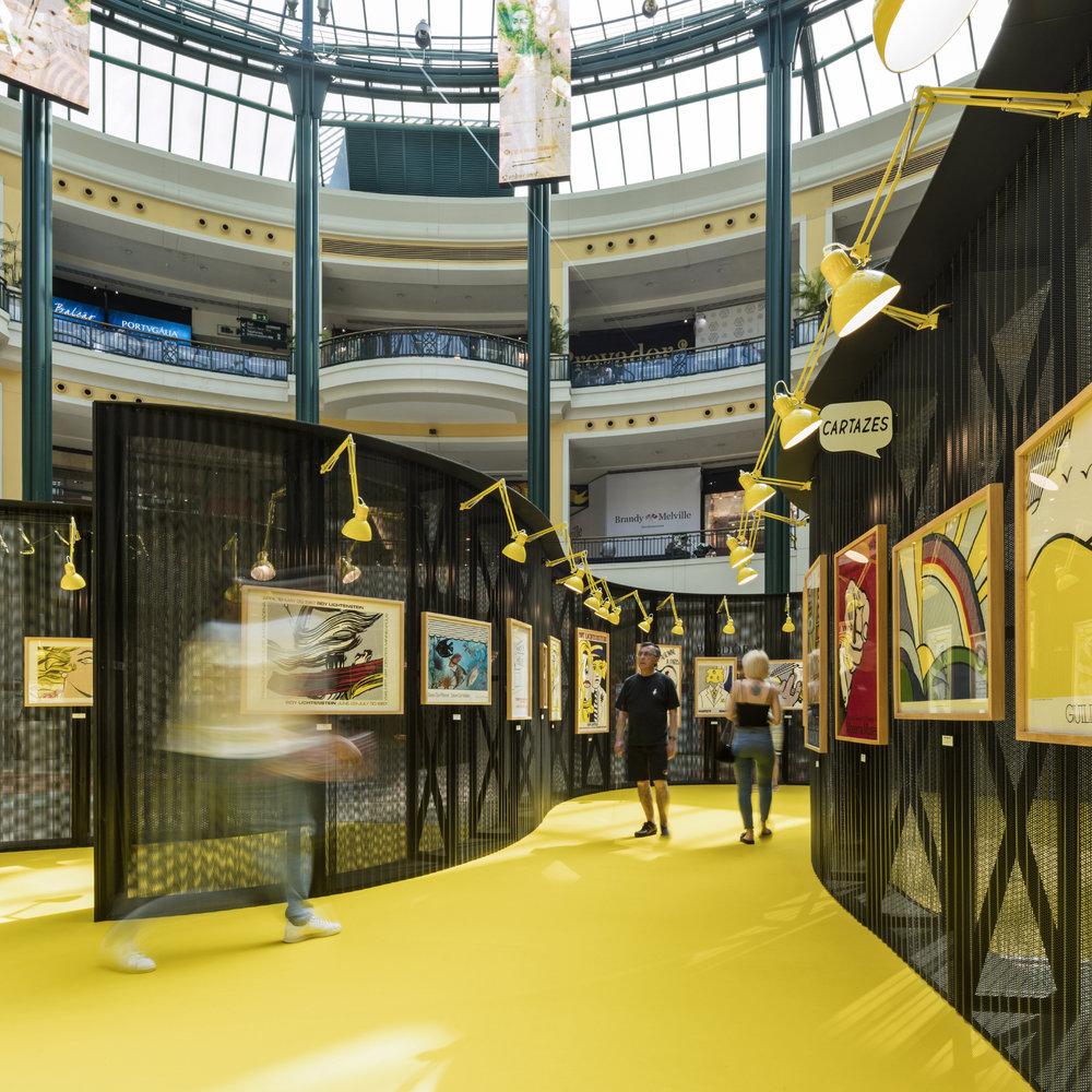 Roy Lichtenstein Temporary Museum, Lisbon 2018