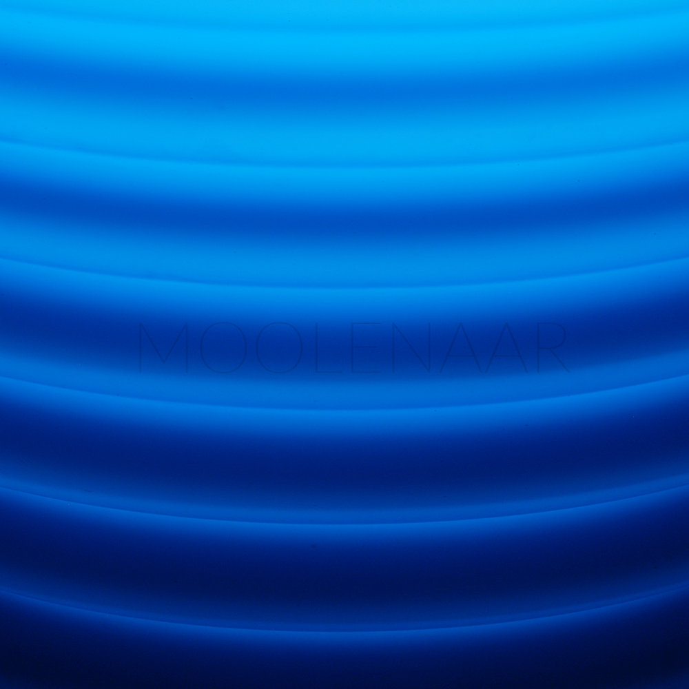 """Electric Blue  by Lucien Moolenaar C-Type Print Aluminium & Perspex Mounted, 36x36"""" (Edition of 10)"""