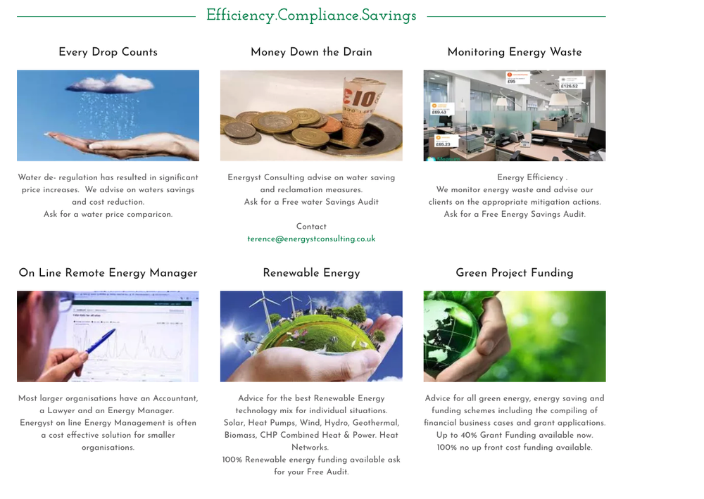 Money saving opportunitiesenergyst consulting energyst consulting use some of the savings achieved to pay for improvements ask us how freerunsca Images