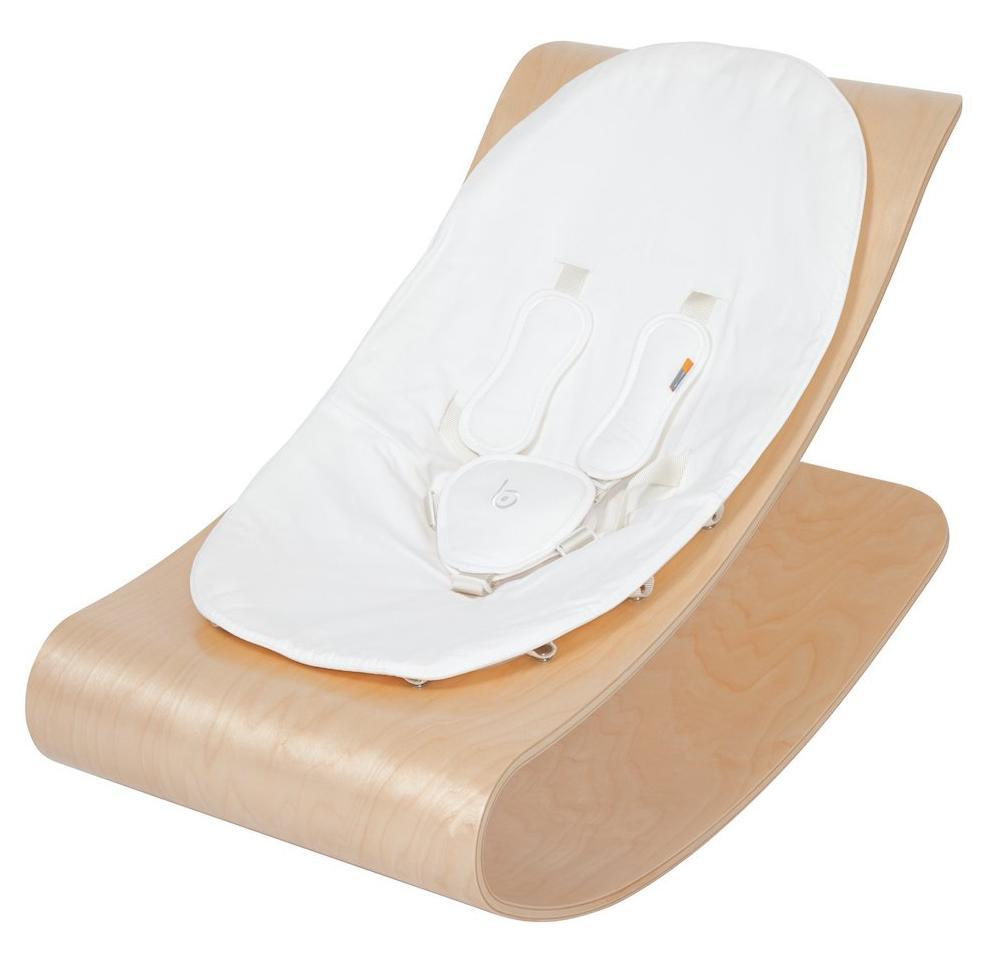 1. Baby Bloom Coco Lounger - I love the natural wood and clean lines of this baby bouncer/lounger.  There are more color options for both the seat and the base.  This is definitely a piece that would fit into any decor!