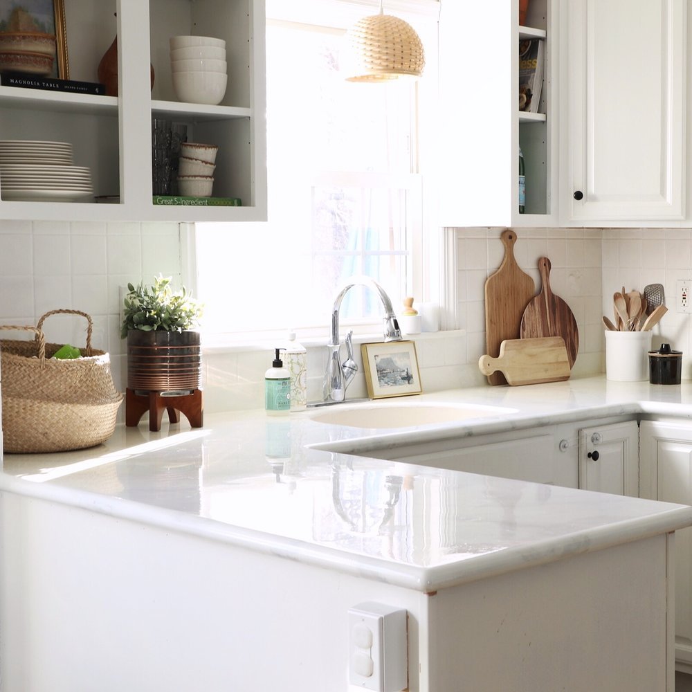 DIY Painted Counters -