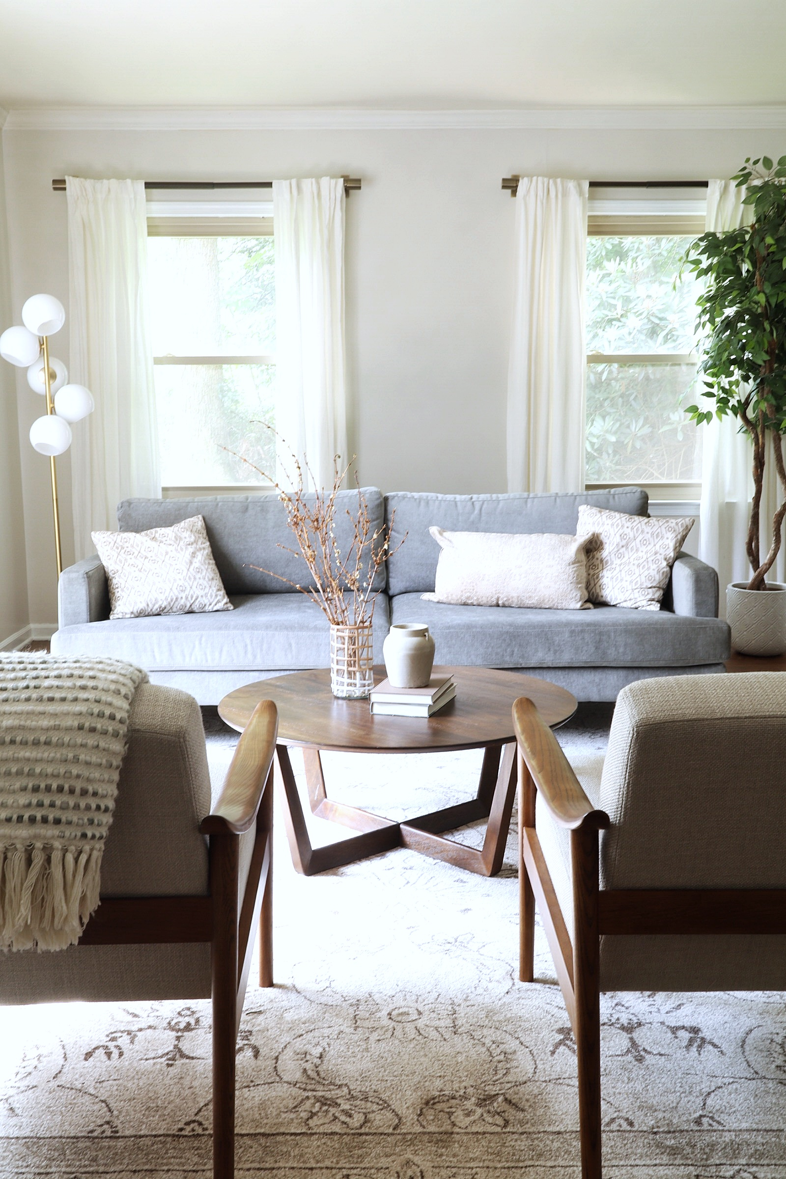 How To Layout Furniture In Your Narrow Living Room Or