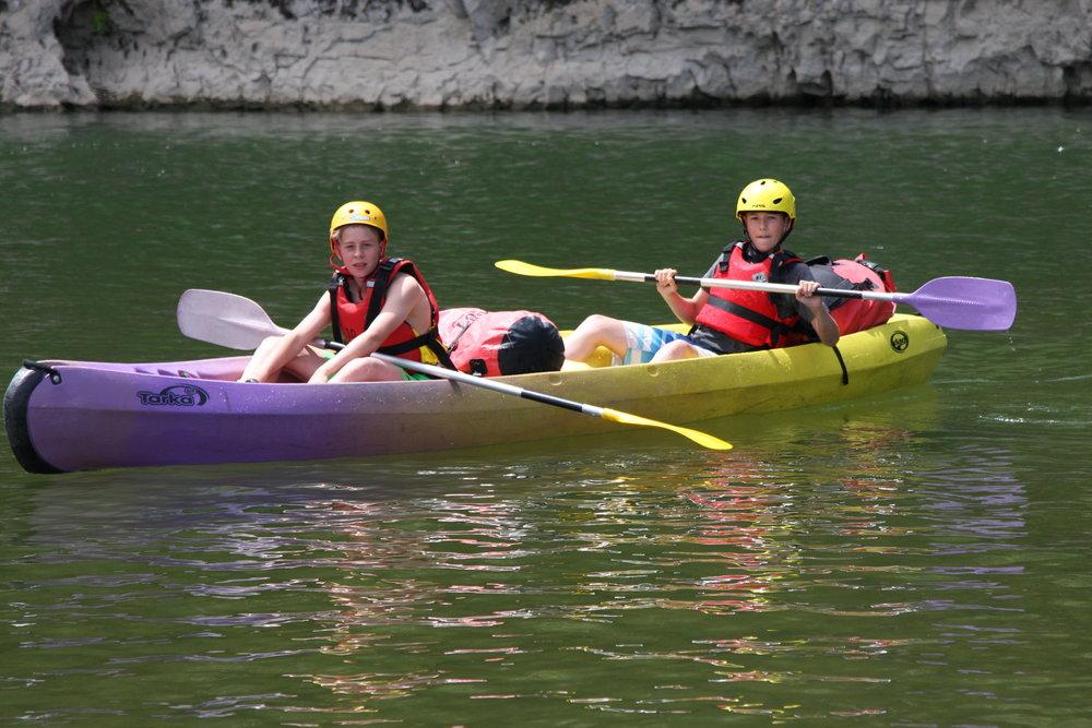 Kayak Chilling