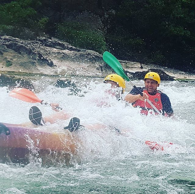 Photo of the day goes to Megan!! #Ardeche #Canoeingholiday #T_O_E #DreamTeam