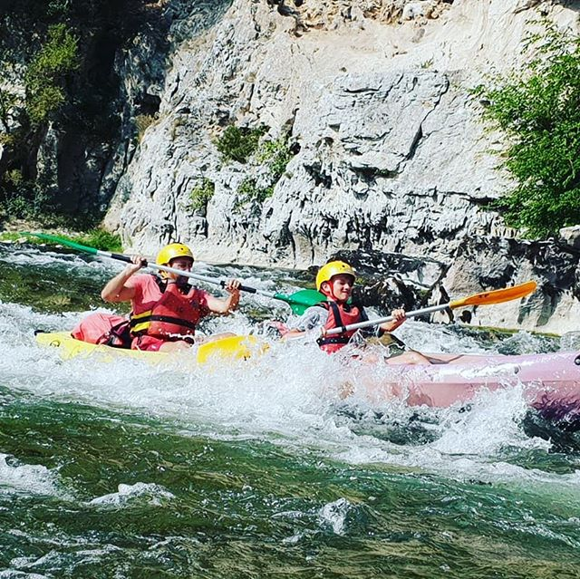 Family Time here in the Ardeche, only a few spaces left for the season! #familytime #NoWifiNoProblem #Ardeche #Canoeingholiday #Kayakingholiday #T_O_E #DreamTeam