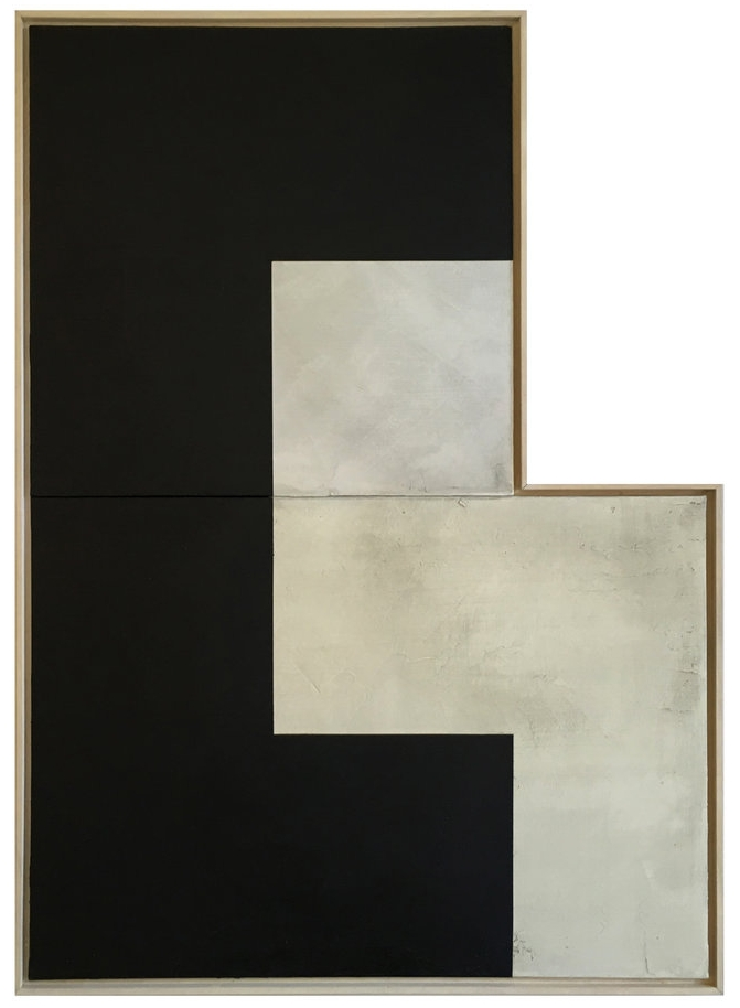 Pending II  , 2016  Acrylic on canvas/polyptych  70 x 100 cm