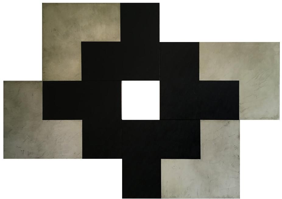 Holly  , 2016  Acrilico sobre lienzo/ poliptico  100 x 150 cm