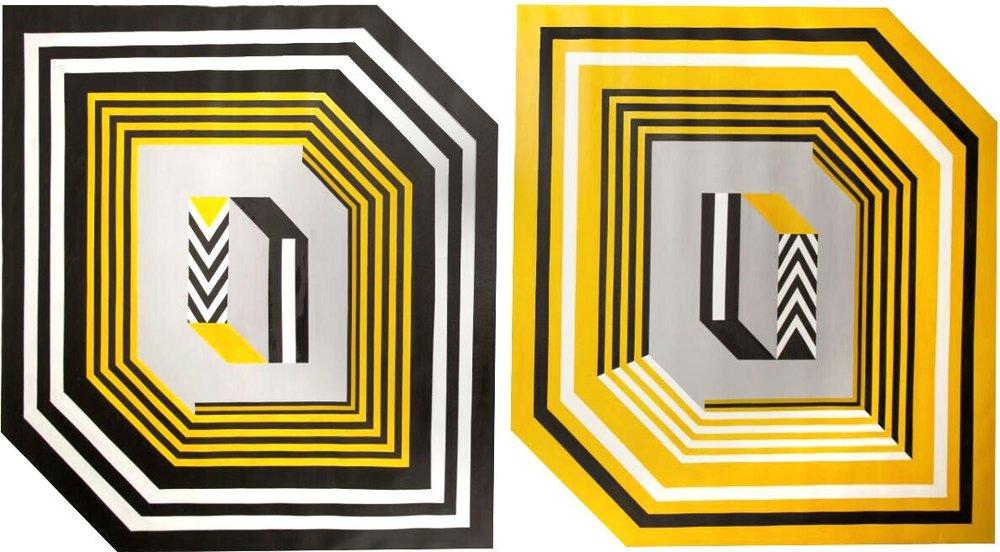 Sin título    Acrylic on canvas  200 x 150 cm