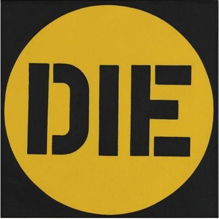 Die,  1962  Óleo sobre lienzo  30,5 x 30,5 cm   SOLD