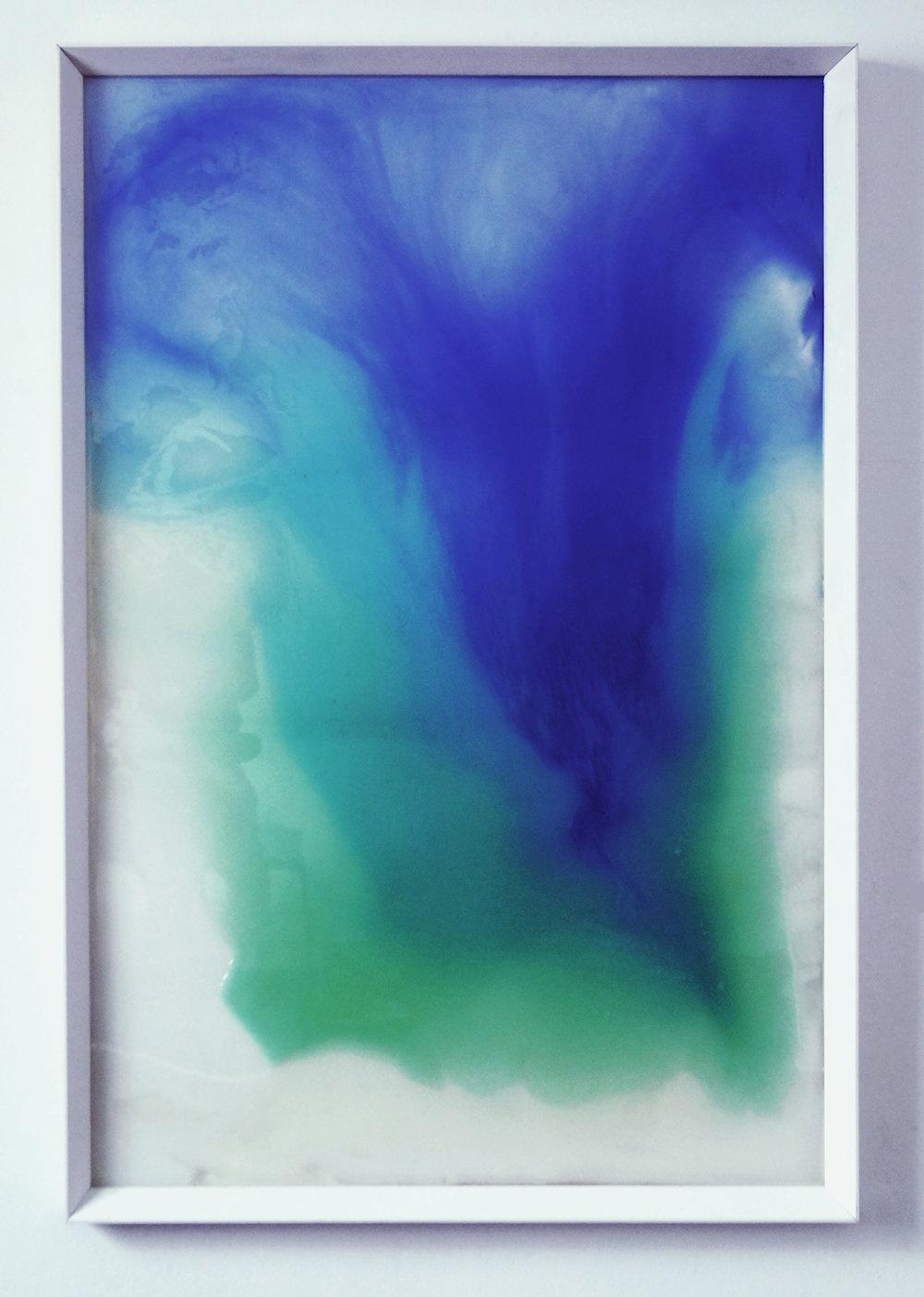 Contenibles III    Epoxy resin, liquid methacrylate and pigment