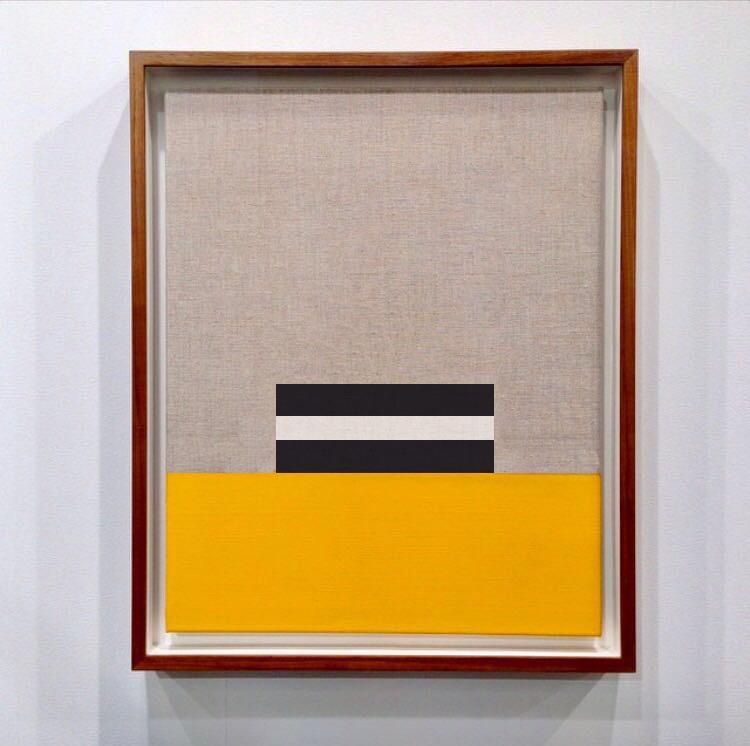 Sin título  , 2017  Óleo sobre lino  39 x 60 cm