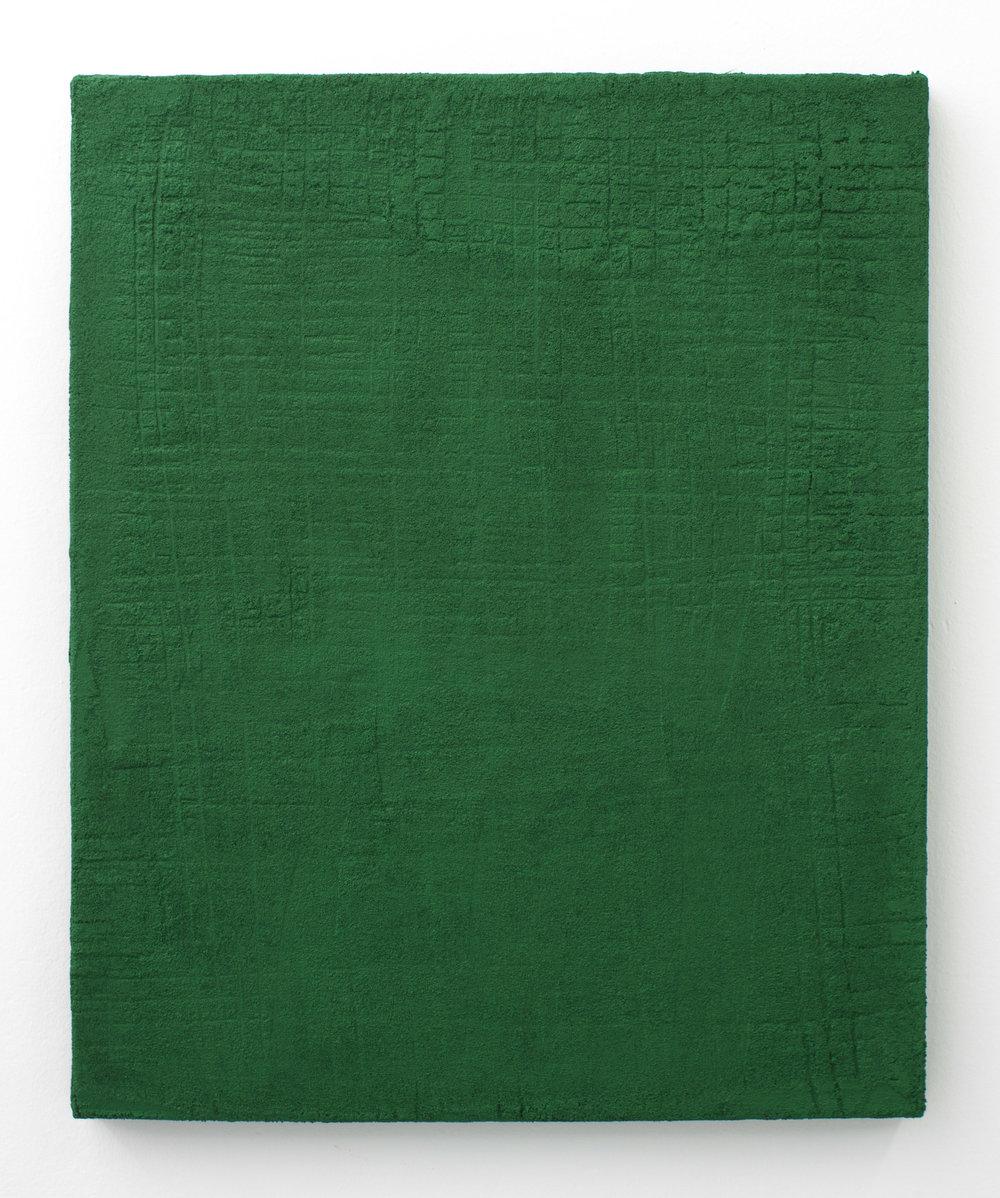 Sin título , 2017  Técnica mixta sobre lino  73 x 60.5 cm
