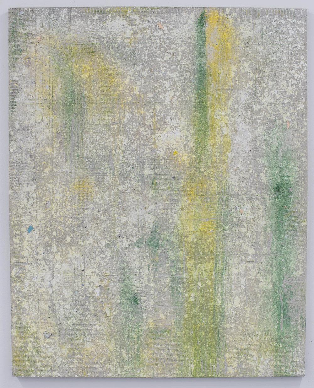 Sin título , 2018  Técnica mixta sobre lino  150 x 120 cm