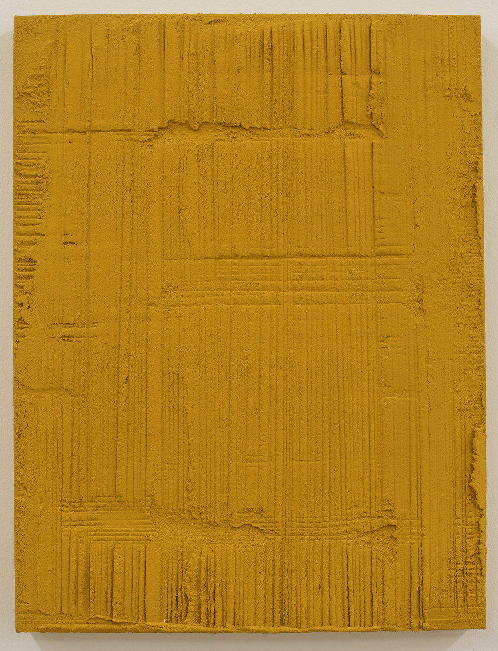 Sin título , 2017  Técnica mixta sobre lino  50 x 38 cm