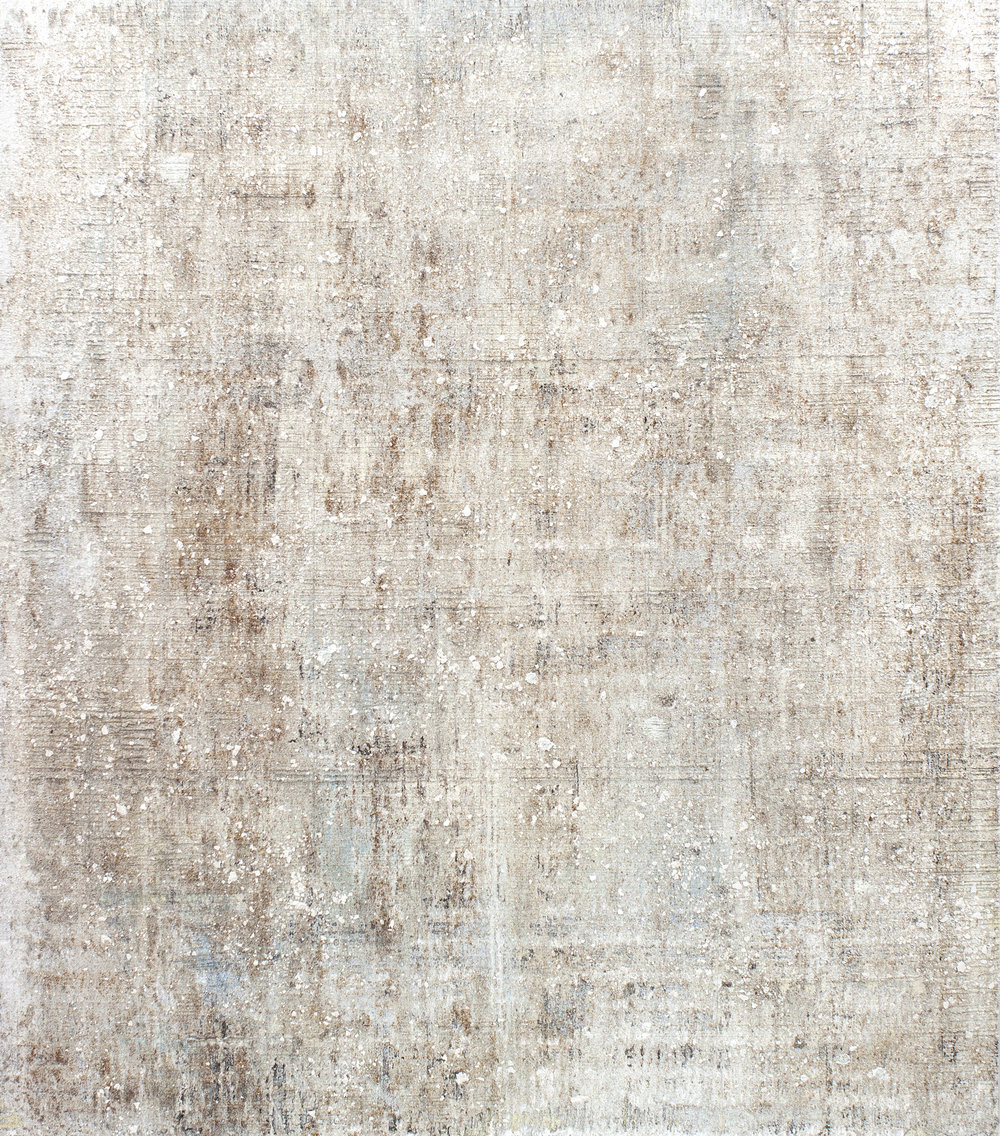 Untiled,  2018  Mixed media on linen  162 x 140 cm