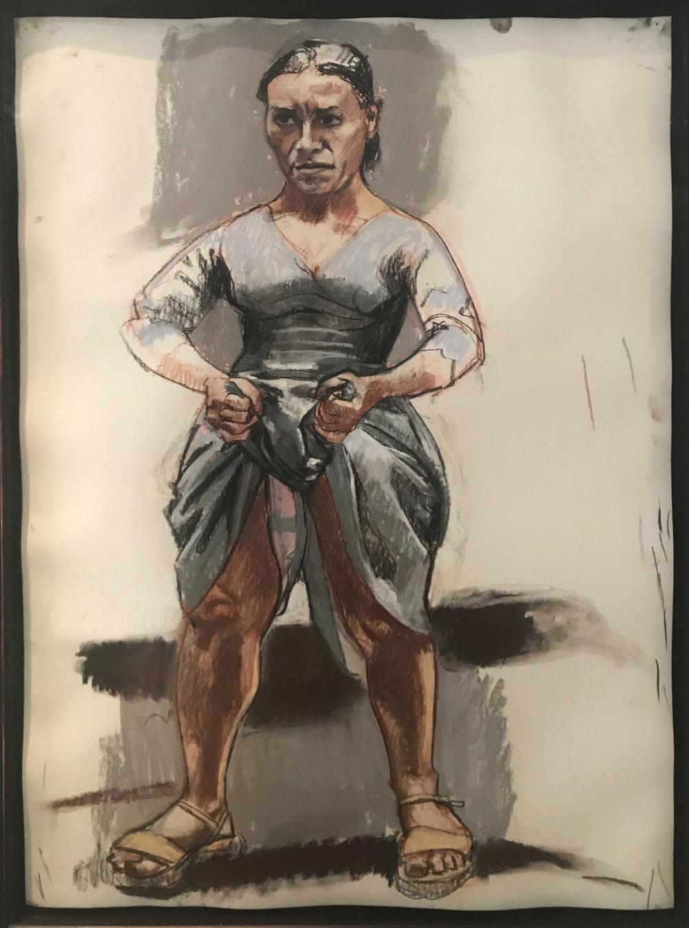 Paula Rego    O No , 2003  84 x 60 cm