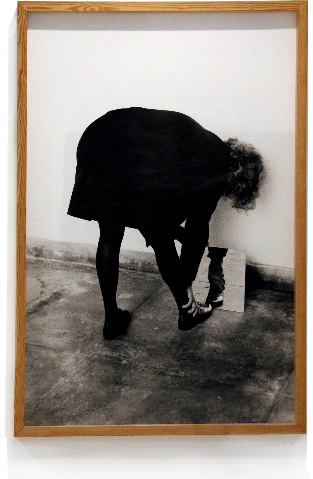 Helena Almeida    Dentro de mim,  2000  Photography on paper  132 x 90 cm