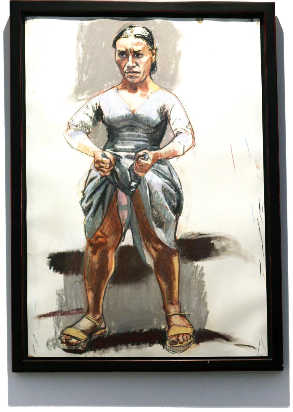 Paula Rego  O No, 2003  84 x 60 cm