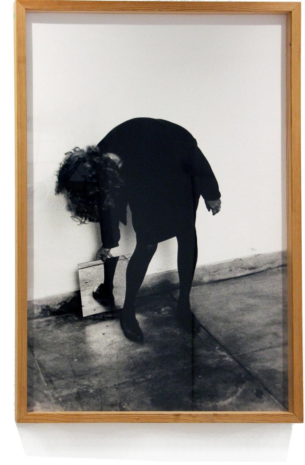 Helena Almeida    Dentro de mim, 2000  Photography on paper  132 x 90 cm