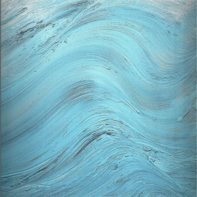Jason Martin   Cap , 2008  Técnica mixta sobre aluminio  195 × 195 cm