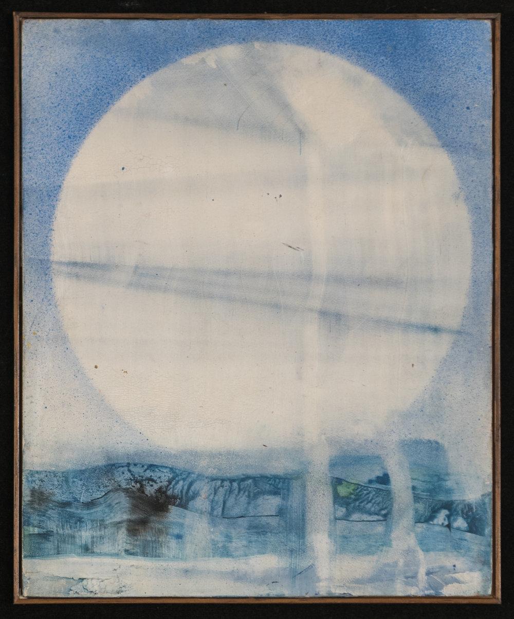 Sole, 1963. Óleo sobre madera. 28 x 22 cm