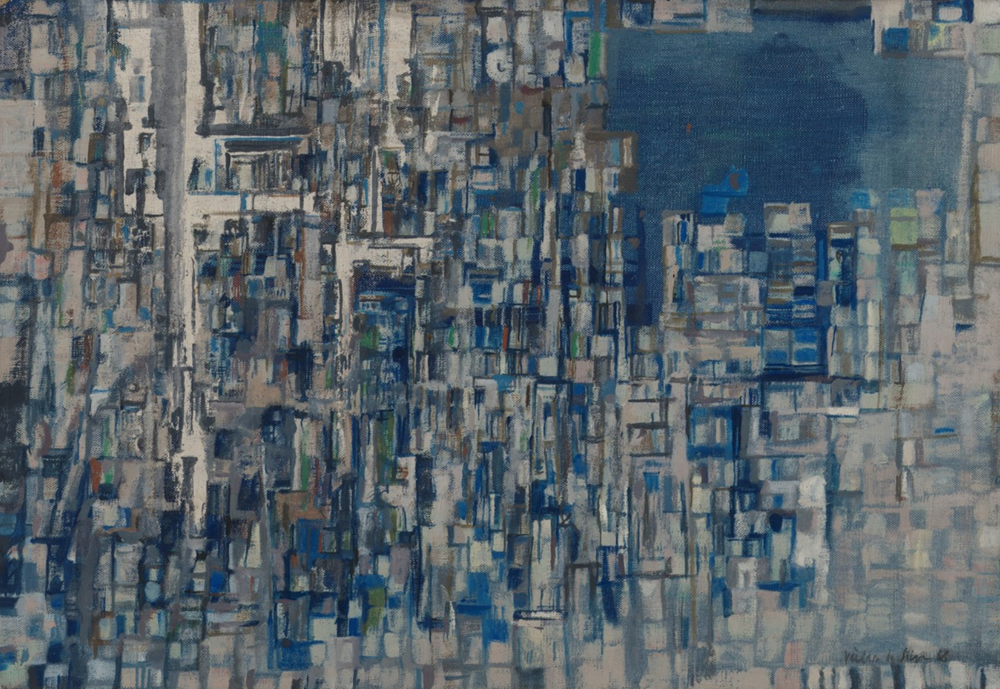 Artémis  , 1968  Oil on canvas  38 x 55 cm   SOLD