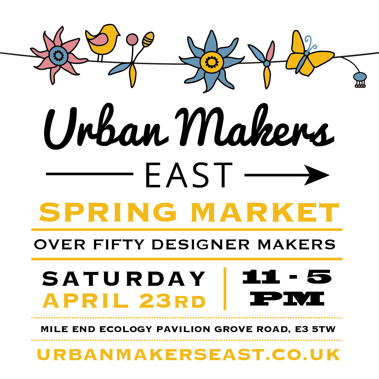 Urban Makers East Spring Market
