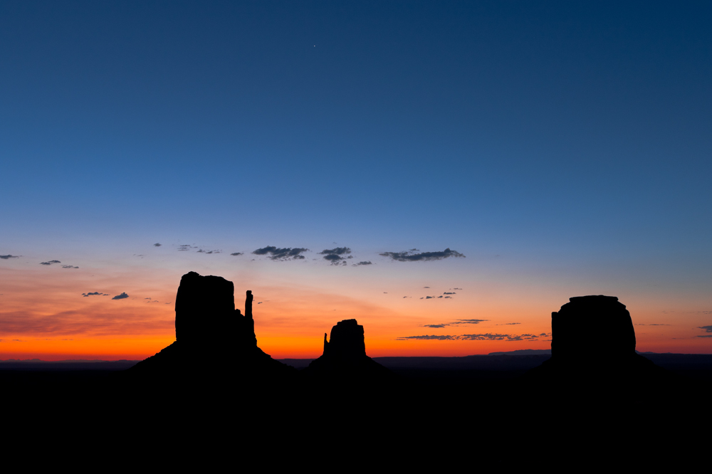Copy of Silhouettes of Monument Valley