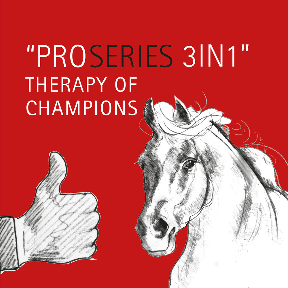 Thumbs up for ProSeries 3in1 – Therapy of Champions!