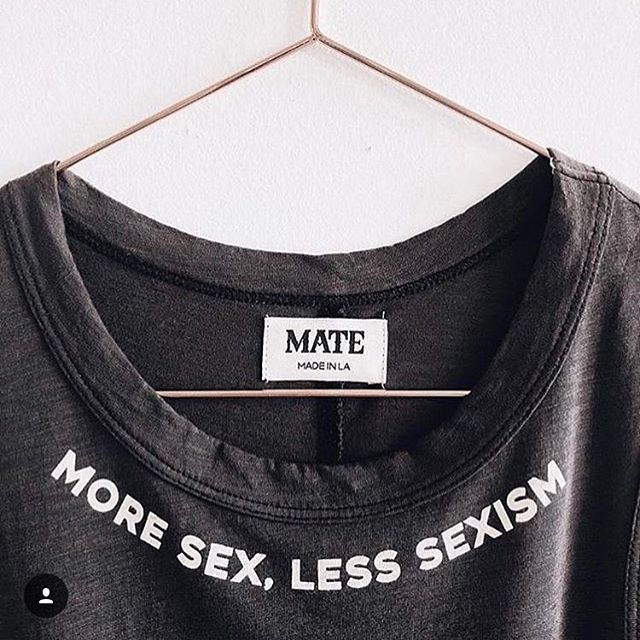 Damn fine advice. Maybe if we plaster it across our necks someone may get the message? #moresex #lesssexism #sexism #sexeducation #slutshaming #sexisnotadirtyword #feminism #domina_franco