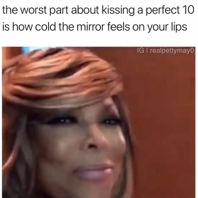 Thanks for the laugh @what_juan_knows . I believe in lots of self love. Can't say I haven't ever kissed a mirror 🤣 #selflove #feelyourself #ifyoudontloveyourselfwhowill #donthateappreciate #domina_franco