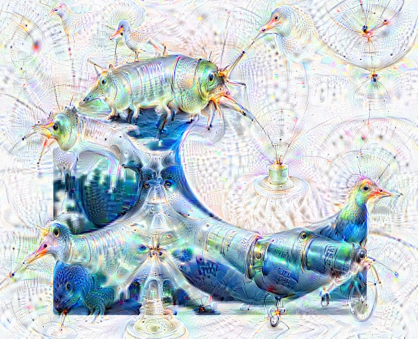 Deep dream of Wave (🌊) (level 0)