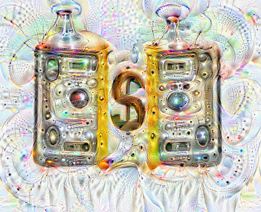 Deep dream of Dollar banknotes (💵) (level 1)