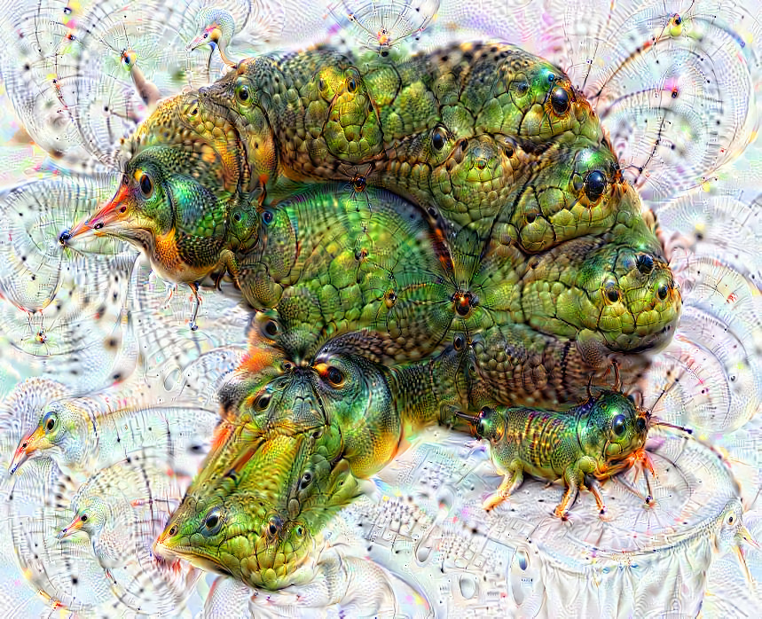 Deep dream of Broccoli (🥦) (level 2)