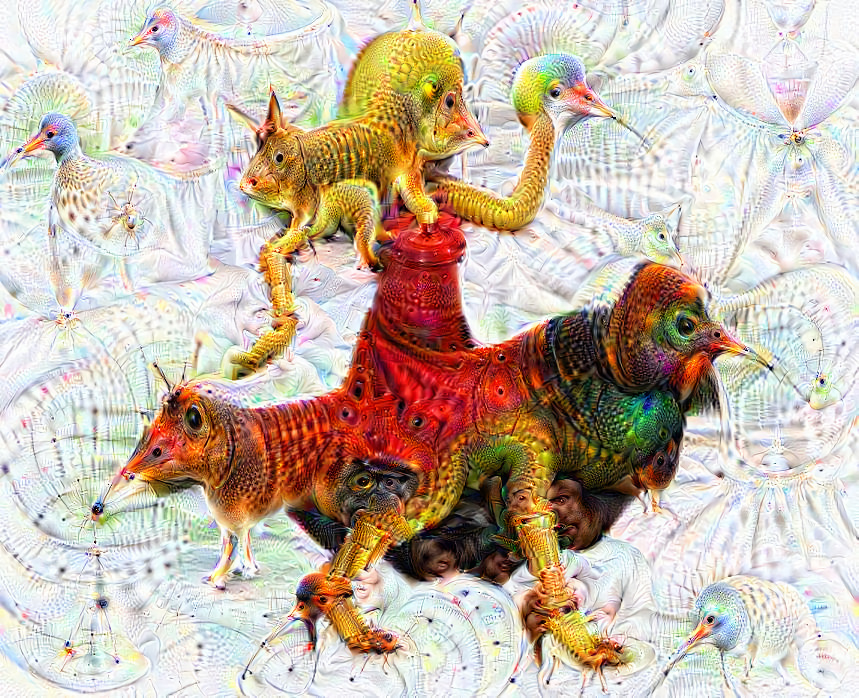 Deep dream of Woman dancing (💃) (level 1)