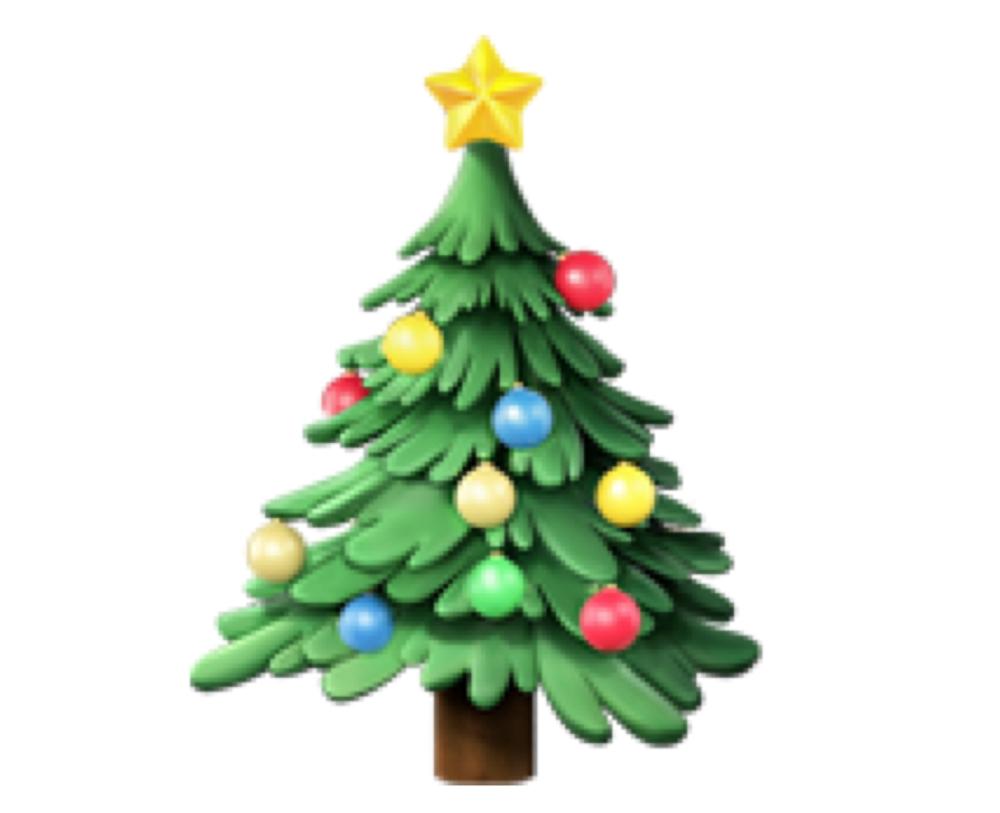 Christmas tree (🎄)