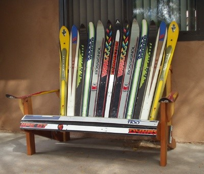 How To Recycle Your Old Skis LineS Beauteous Old Ski Coat Rack