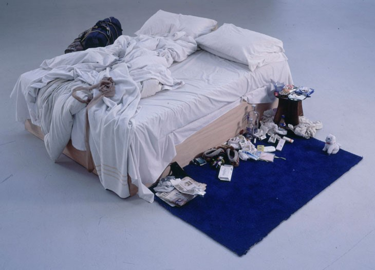 Tracy Emin's masterpiece will be nothing on the sights you'll see cleaning during the snow season.  Photo: Rpafe